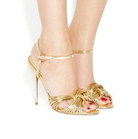 gold-sandals-office