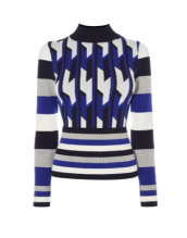 blue-pattern-jumper-karen-millen