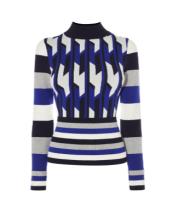 blue-pattern-jumper-karen-millen