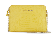 km yellow chainbag