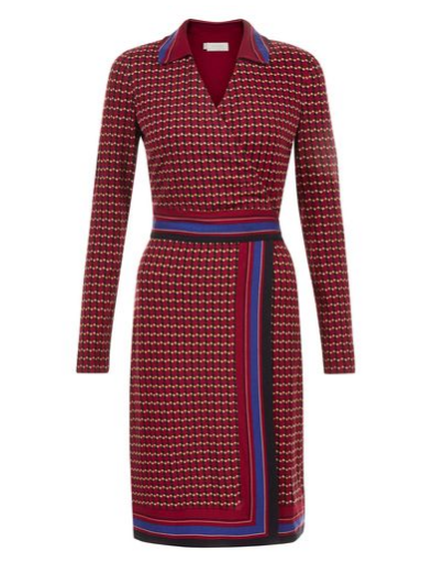 hobbs raspberry dress