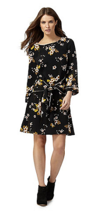 savannah miller drop waist floral