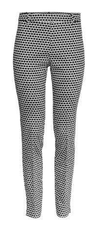 hm patterned pants