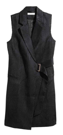H&M sleeveless jacket