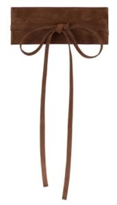 hobbs brown waist belt