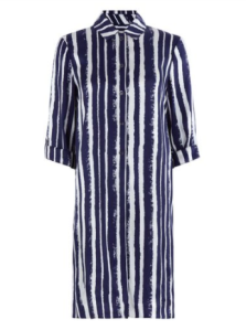 hobbs striped dress