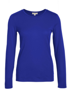 kettlewell blue long sleeve T