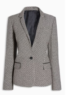next herringbone blazer