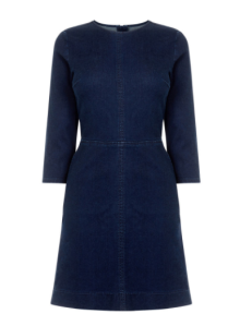 oasis denim ruby shift dress