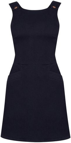 oasis enim pinafore dress