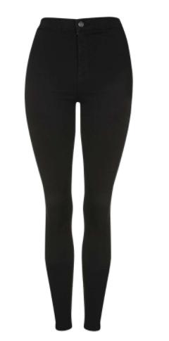 topshop black skinny jeans