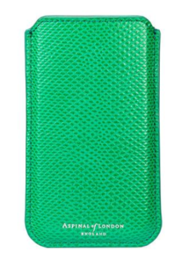 green aspinal phone case