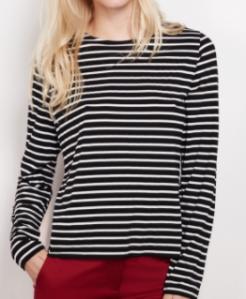 winser black stripe t