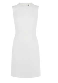 km ivory shift dress