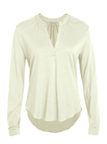 kw antique white blouse