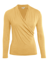 kw wrap top gold