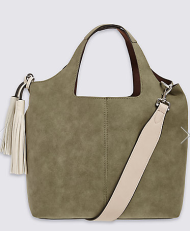 M&S tassle bag