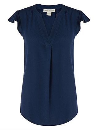 navy monsoon top