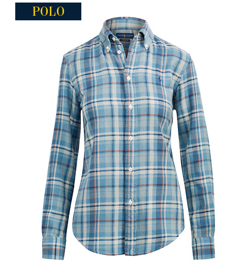 polo check shirt