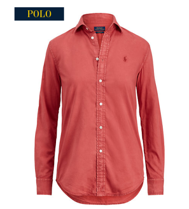 polo red shirt