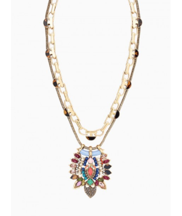 stelladot holiday statement necklace