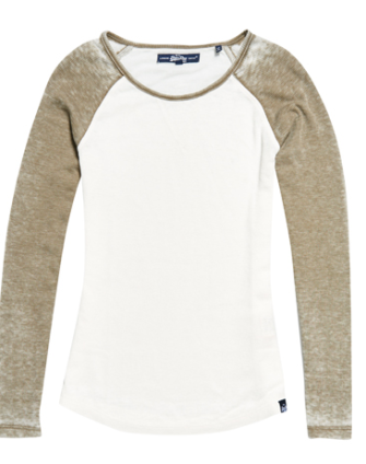 superdry raglan sleeve top