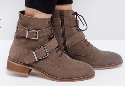 taupe ankle boot asos