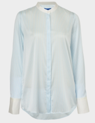 winser blue striped shirt