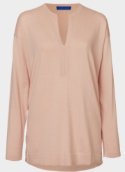 winser blush tunic