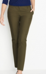 winser cotton trousers khaki
