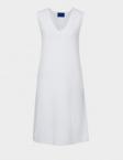 winser white ve neck dress
