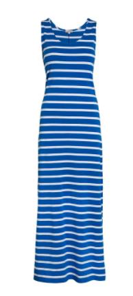 blue stripe maxi