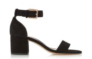 dune low block sandals