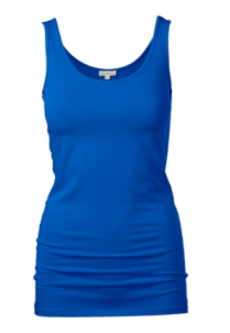 electric blue cami