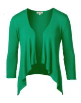emerald cardi