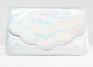 hologram clutch asos