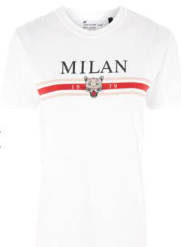 milan slogan T