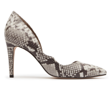 reiss snakeskin shoes