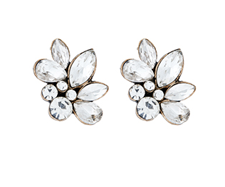 sophia cluster stud earrings