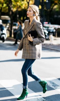 check blazer trend