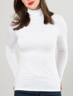 kettlewell white polo neck