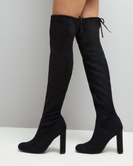 new look over the knee boots