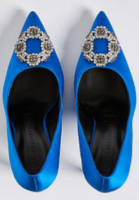 cobalt m&s manolos