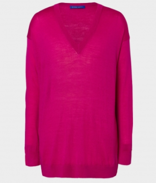 magenta winser london jumper