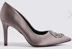 m&s pewter shoes