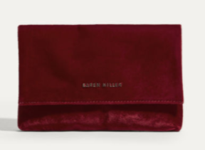 red velvet clutch km