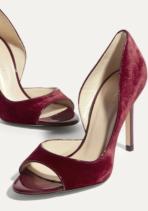 red velvet km shoes