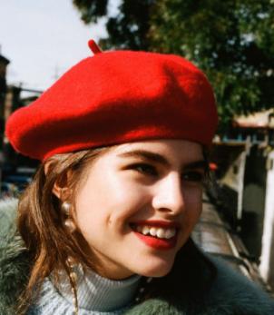 Topshop berret