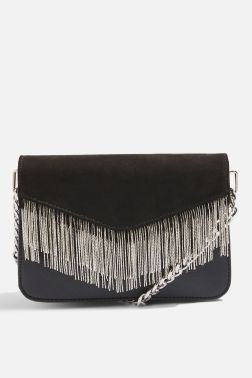 Topshop tassle detail bag