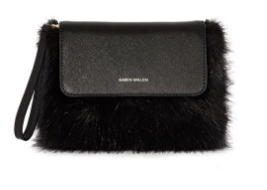 KM fur clutch